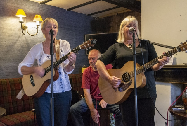 At the Bay Horse in Oxenhope, Sep 2018